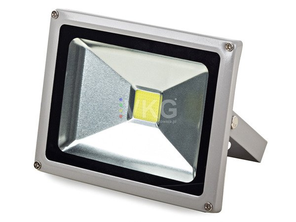 HALOGEN LED SZARY 20W Z